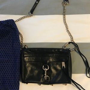 Rebecca Minkoff mini MAC crossbody in black